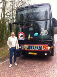 Partybus met Ronald Koeman